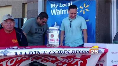 News video: Black Friday Toys For Tots